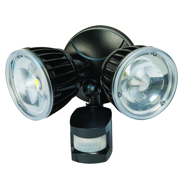 NightWatcher NE15TSPB LED Twin Security Light