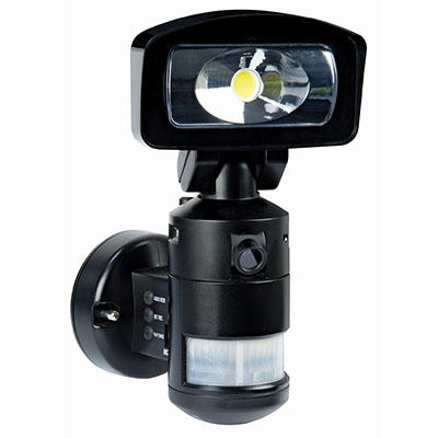 Nightwatcher led robotic security light with hd camera nightwatcher nightwatcher led robotic security light with hd camera mozeypictures Choice Image