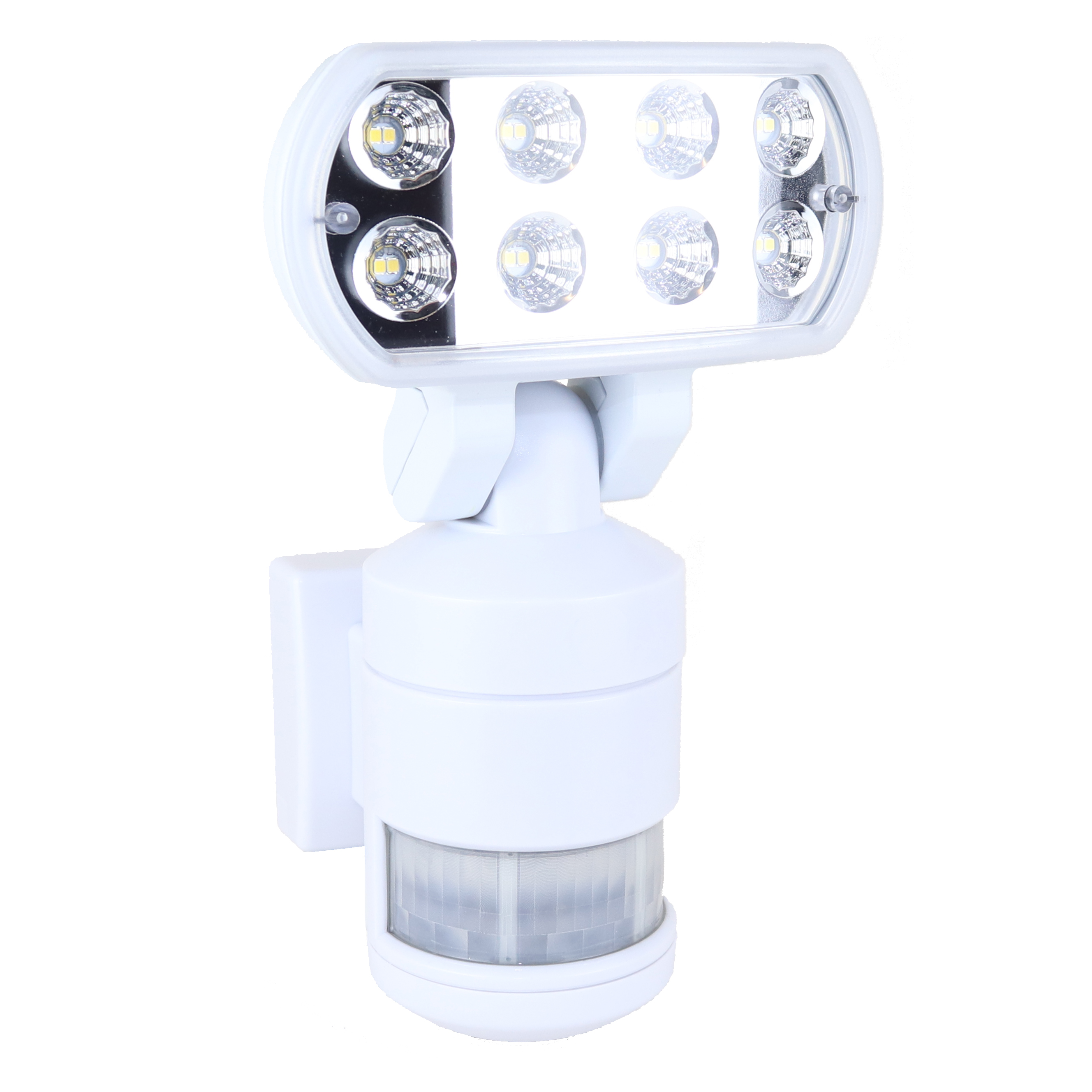 Nightwatcher Led Robotic Security Floodlight Nw525 White
