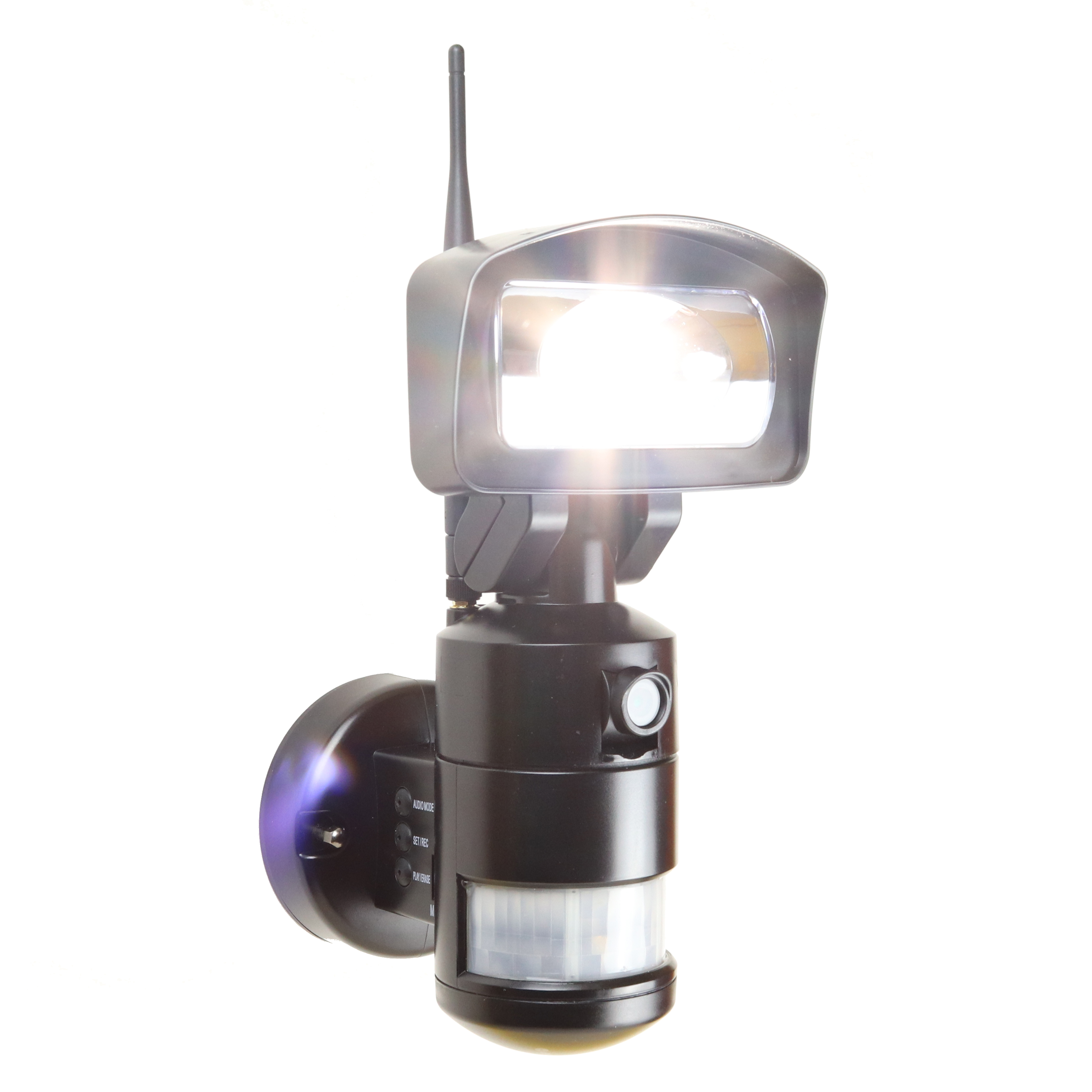NightWatcher LED Robotic Security Light With WiFi & HD